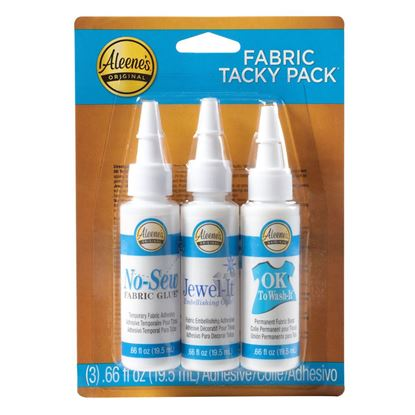 Aleene's® Tacky Pack™ Fabric 3 Pack