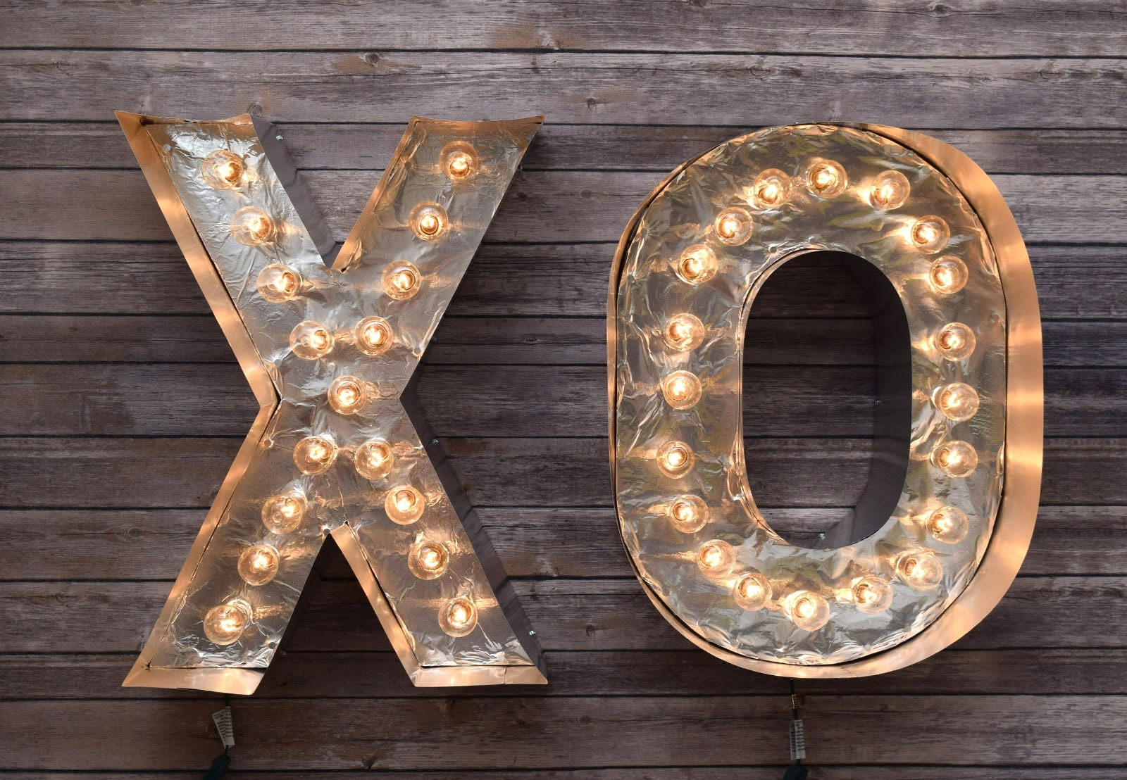 Picture of DIY Reflective Marquee Letters