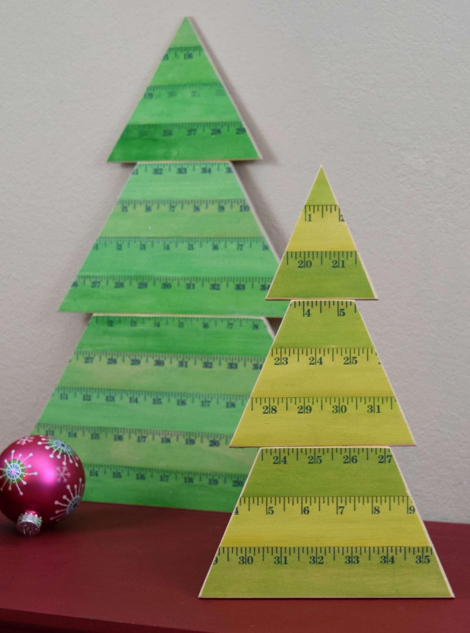 Aleenes Original Glues Wooden Yardstick Christmas