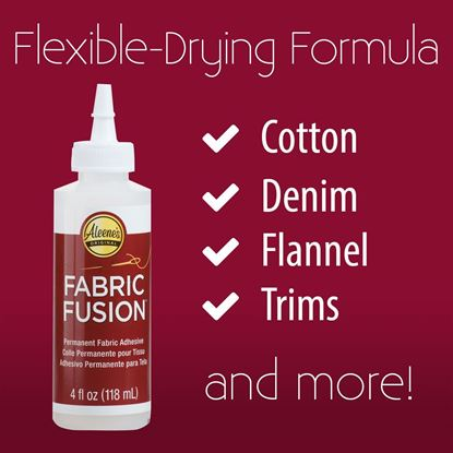 Picture of Aleene's® Fabric Fusion® Permanent Fabric Adhesive