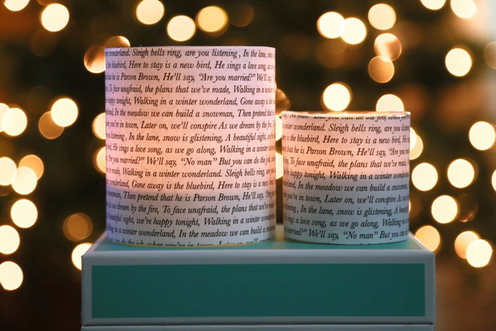 Picture of Christmas Music Candle Votives