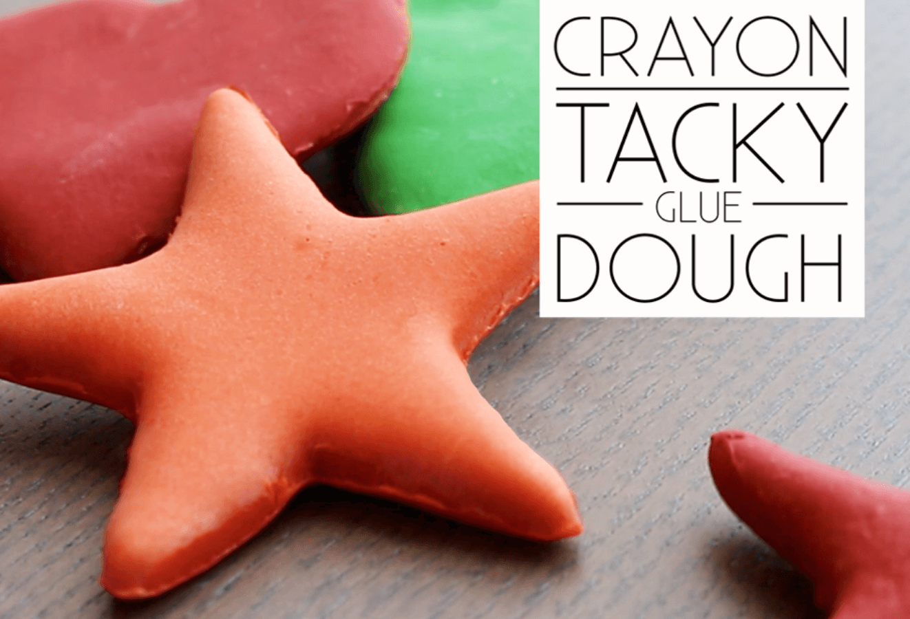 Picture of Crayon Tacky Glue Dough