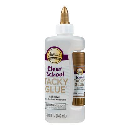 Aleene's® Clear School Tacky Glue® with Glue Stick