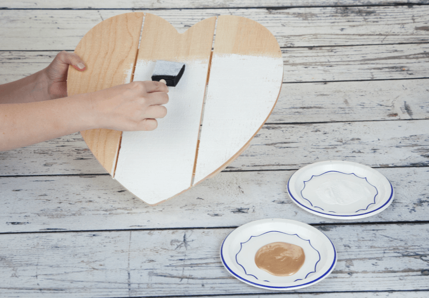 Picture of How to Glue Wood to Wood: Personalized Wood Heart