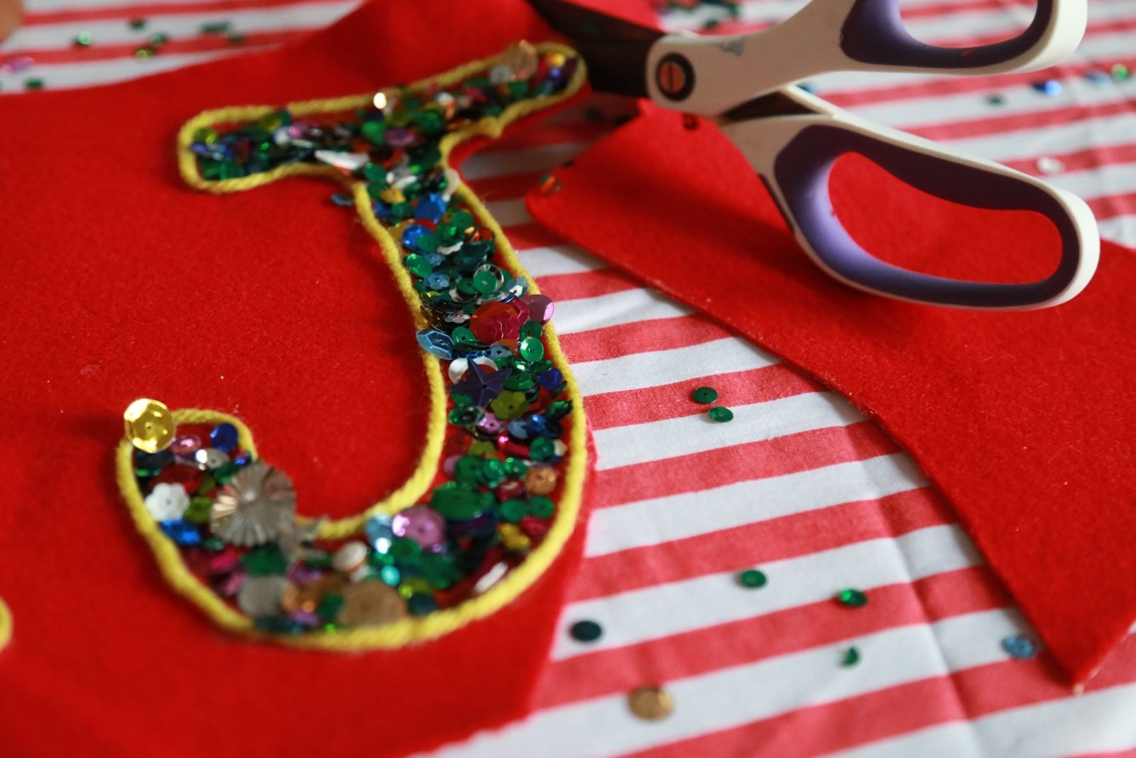 Picture of Sequin Sparkle Letters