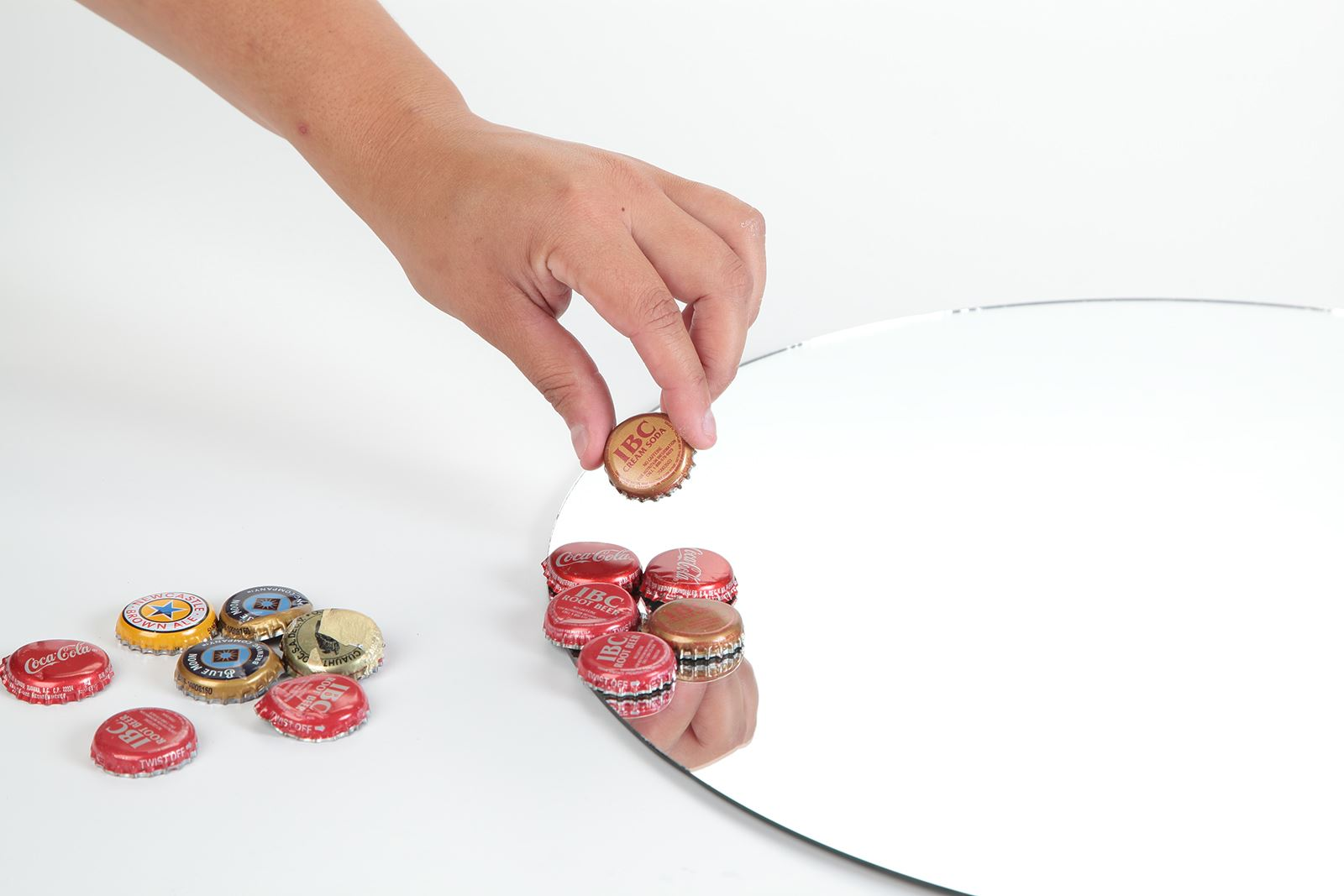 Picture of Bottlecap Collector Mirror