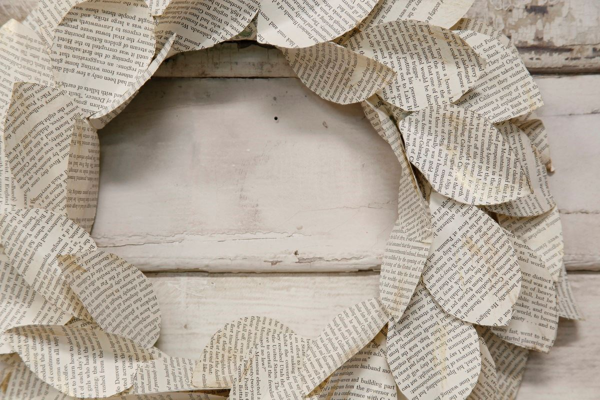 Picture of Paper Wreath