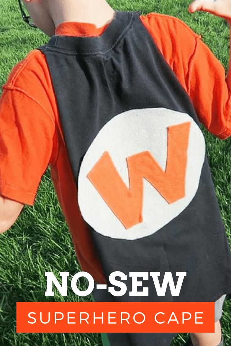 Picture of No-Sew Superhero Cape
