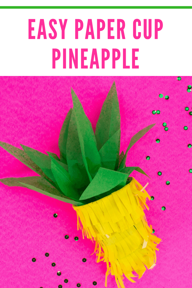 Picture of Quick Pineapple Piñata