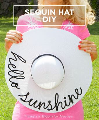 Picture of Sequin Hat DIY