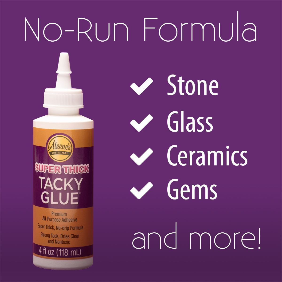 Aleene's® Super Thick Tacky Glue