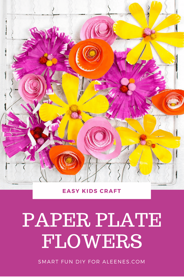 Picture of Paper Plate Flowers for Kids