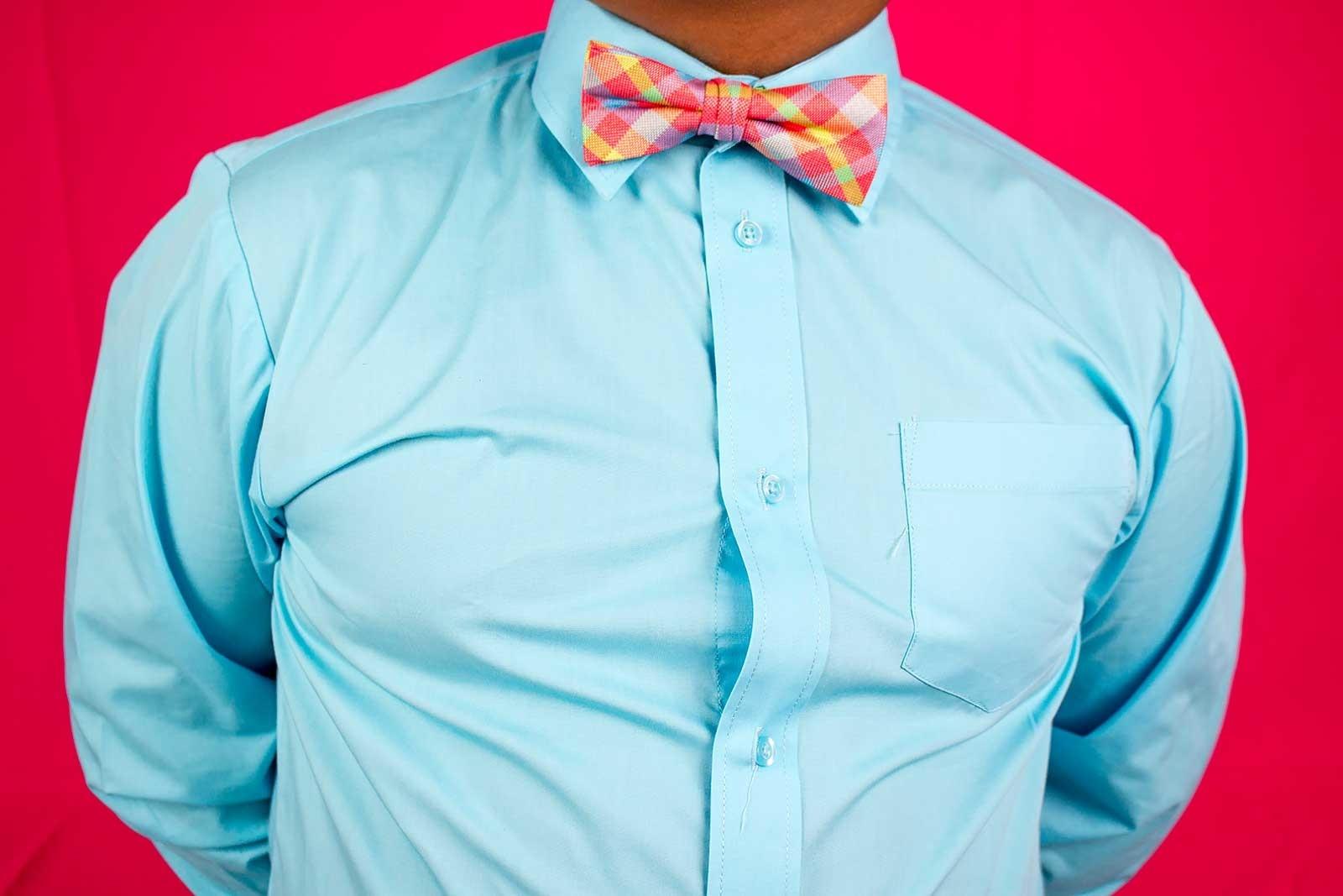 How to Fix a Shirt Gap Step 2