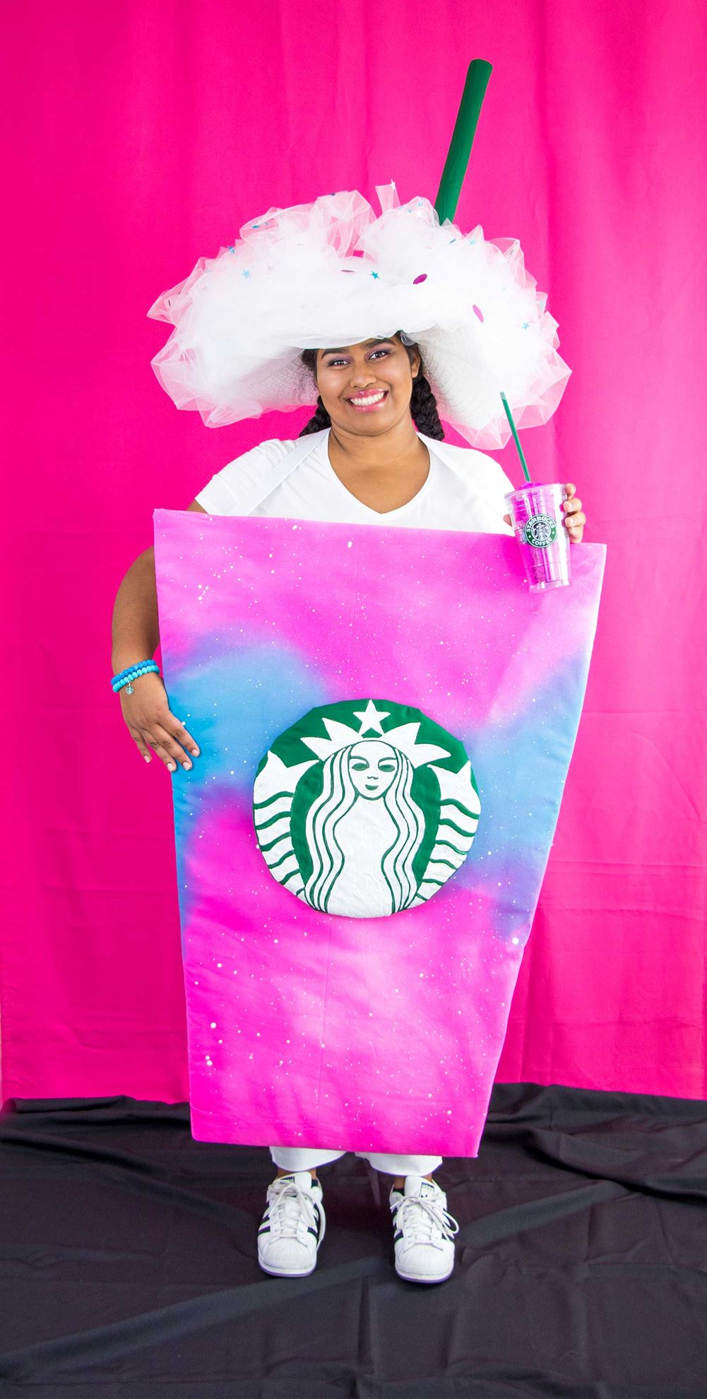 Picture of No-Sew DIY Unicorn Drink Costume!
