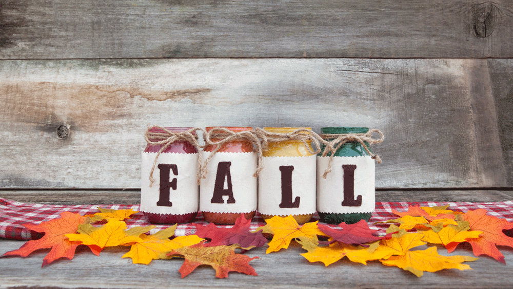 Picture of DIY Fall Mason Jars