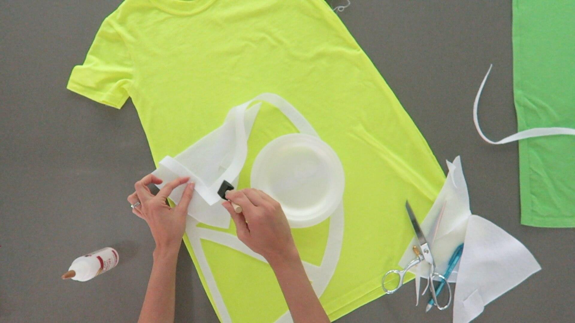Picture of No Sew Lemon Lime Costume Idea