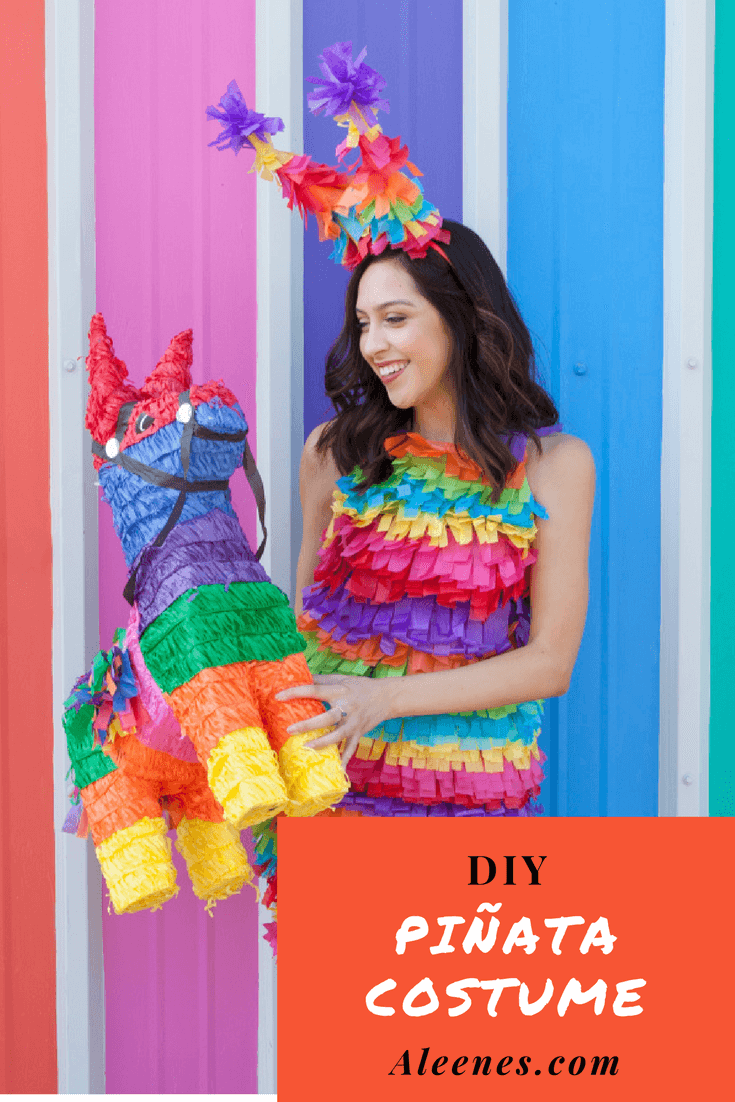 Picture of DIY Pinata Costume