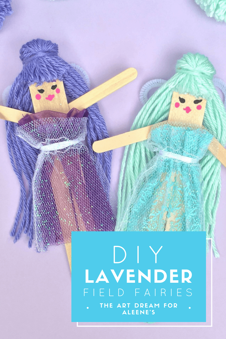 Picture of DIY Lavender Fields Fairies