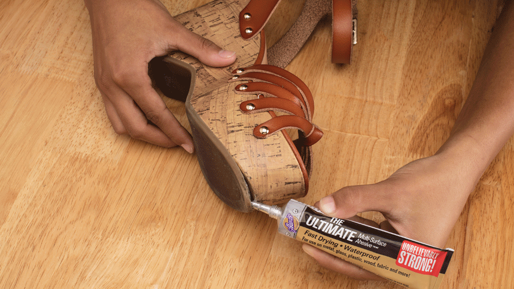 Picture of How to Fix a Broken Shoe Sole