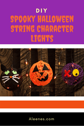 Picture of DIY String Halloween Characters