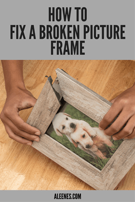 Picture of How to Fix a Broken Picture Frame