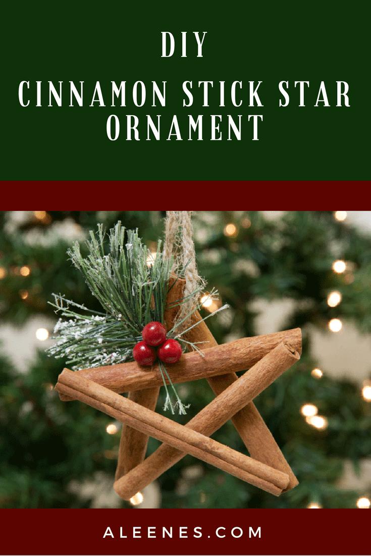 Picture of DIY Cinnamon Stick Star Ornament