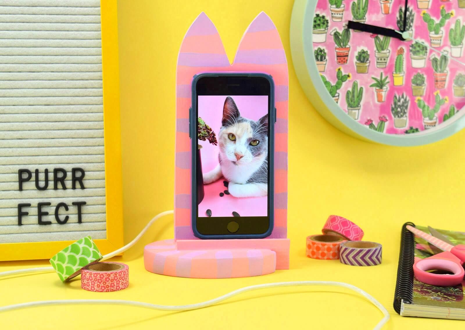 Aleene S Original Glues Diy Cat Shaped Smart Phone