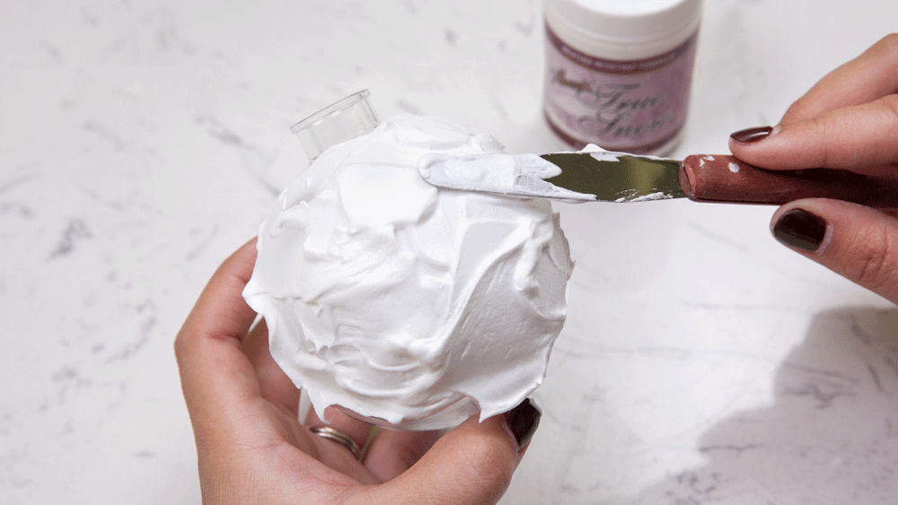 Picture of DIY Snowball Ornament