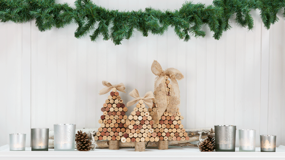 Picture of DIY Ultimate Cork Christmas Tree