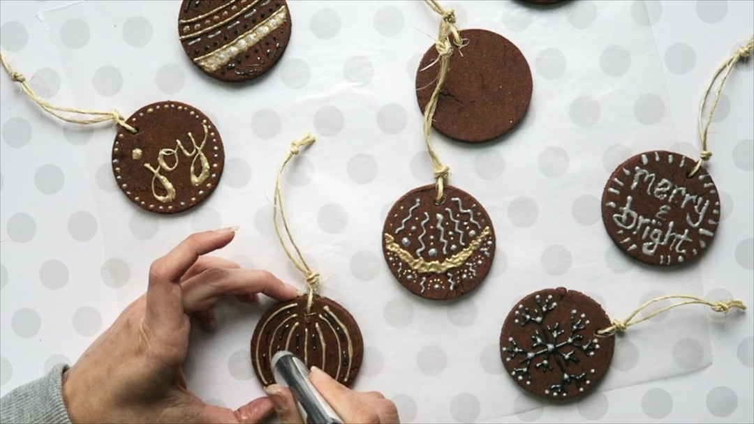 Picture of DIY Cinnamon Ornaments for Christmas