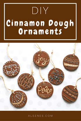 Picture of DIY Cinnamon Dough Ornaments for Christmas