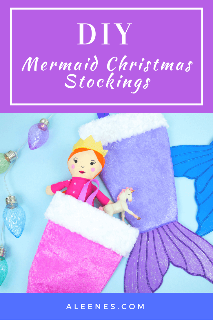 Picture of DIY Mermaid Stockings