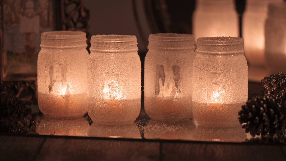 Picture of DIY Salt Luminaries