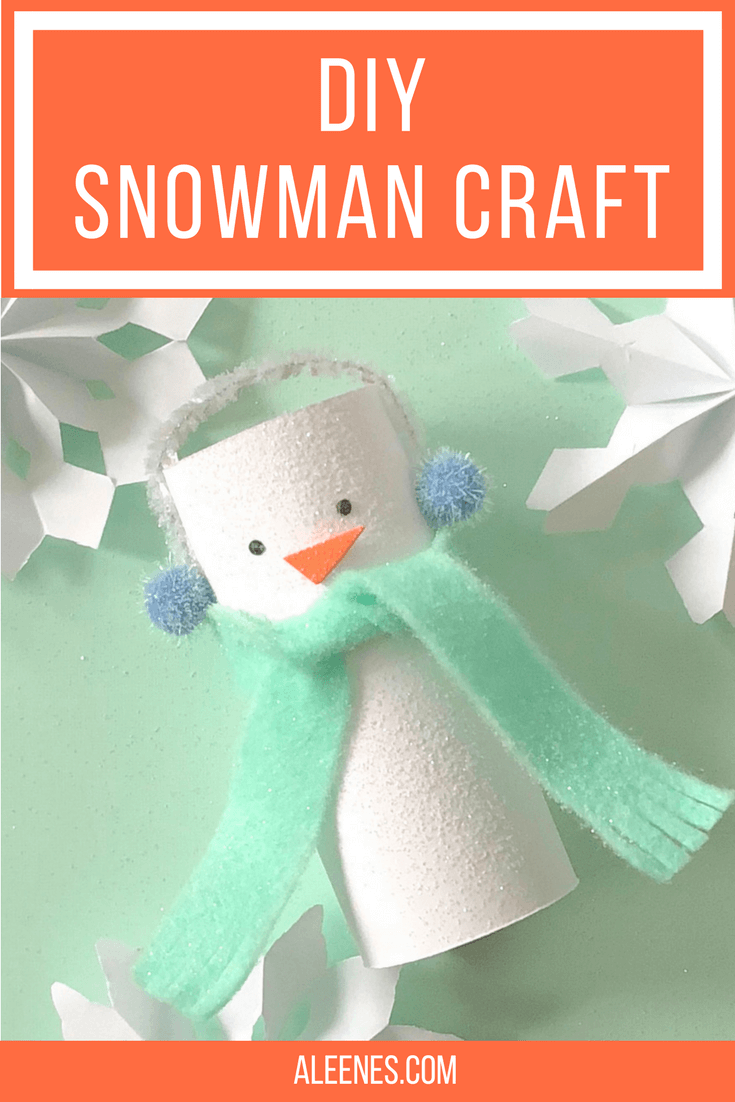 Picture of DIY Snowman Craft