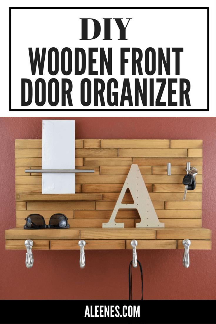 Picture of Wooden Front Door Organizer