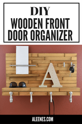Picture of Wooden Front Door Organizer