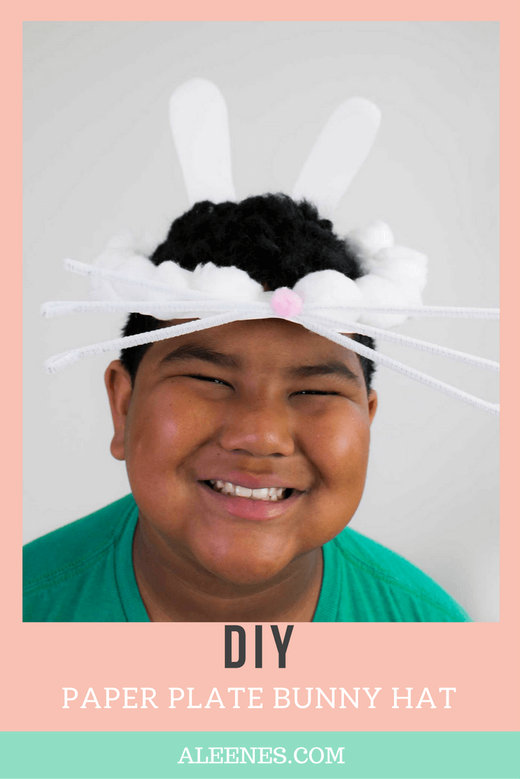 Picture of Paper Plate Bunny Hats