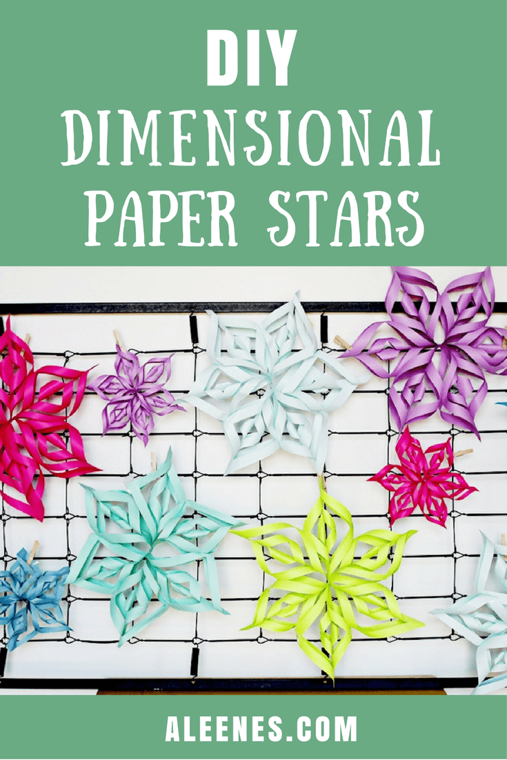 Picture of Super Simple Dimensional Stars