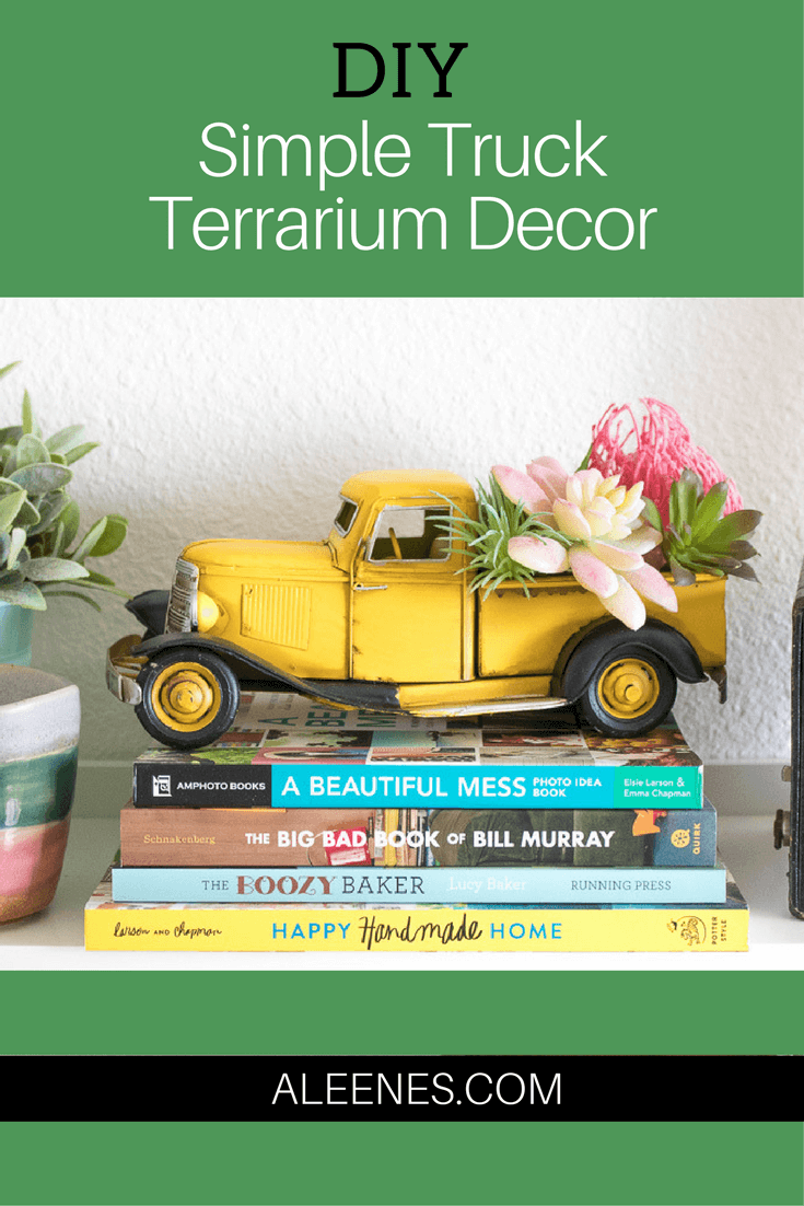 Picture of Simple DIY  Truck Terrarium Decor