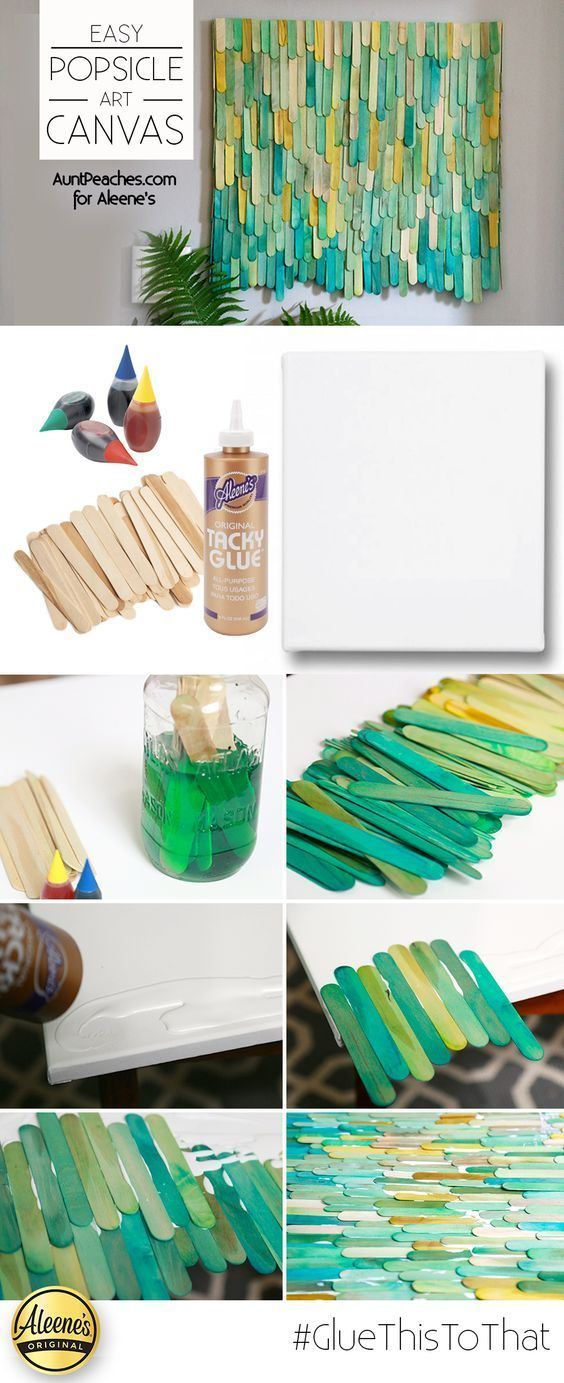 Picture of Easy Popsicle Stick Art