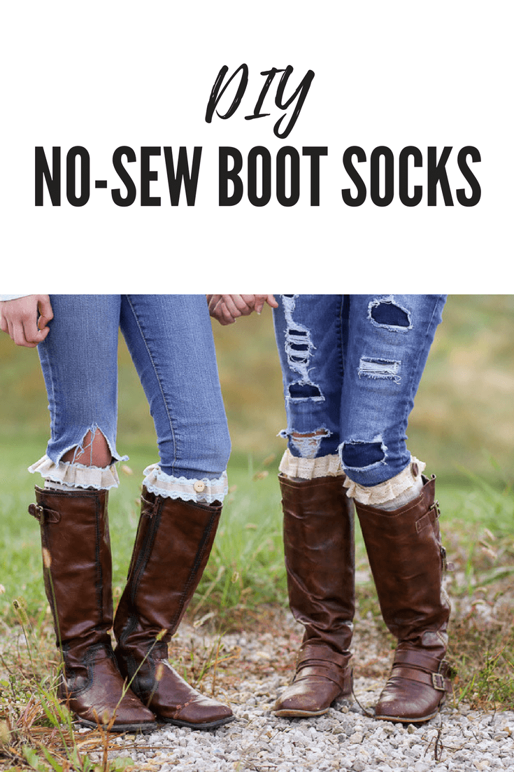 Picture of DIY No-Sew Boot Socks