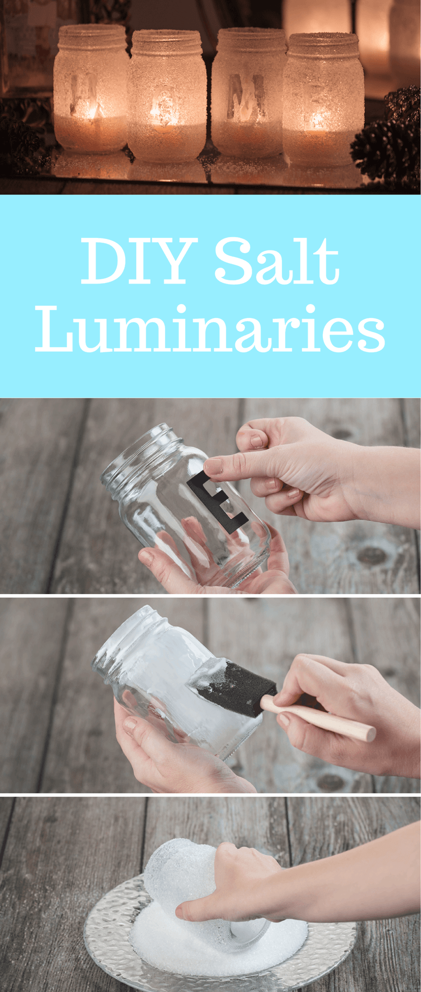 Picture of DIY Salt Luminaries