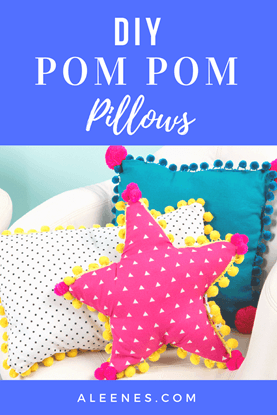 Picture of DIY Pom-Pom Pillows