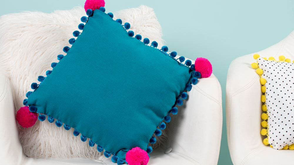 Picture of DIY Pom-Pom Pillows