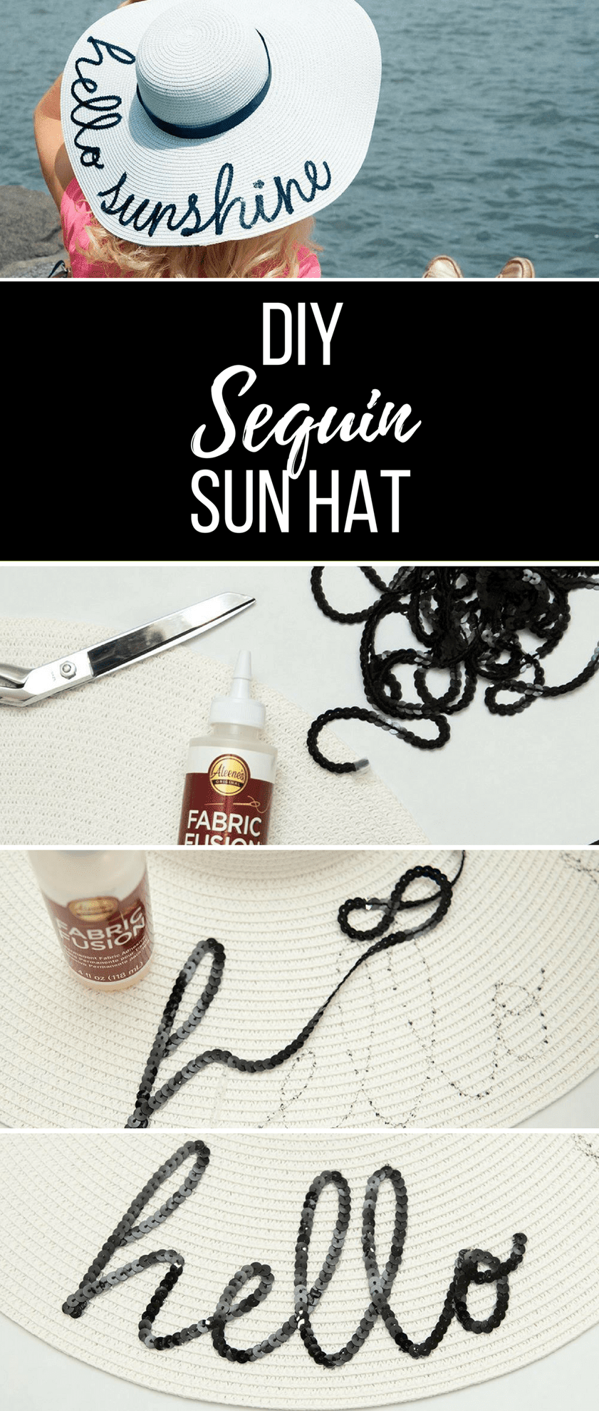 Picture of Sequin Hat DIY
