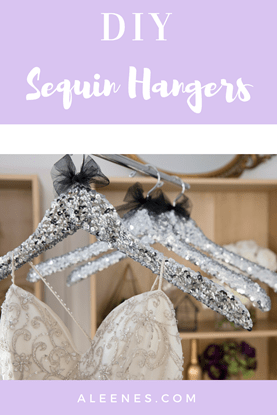 Picture of DIY Sequin Hangers