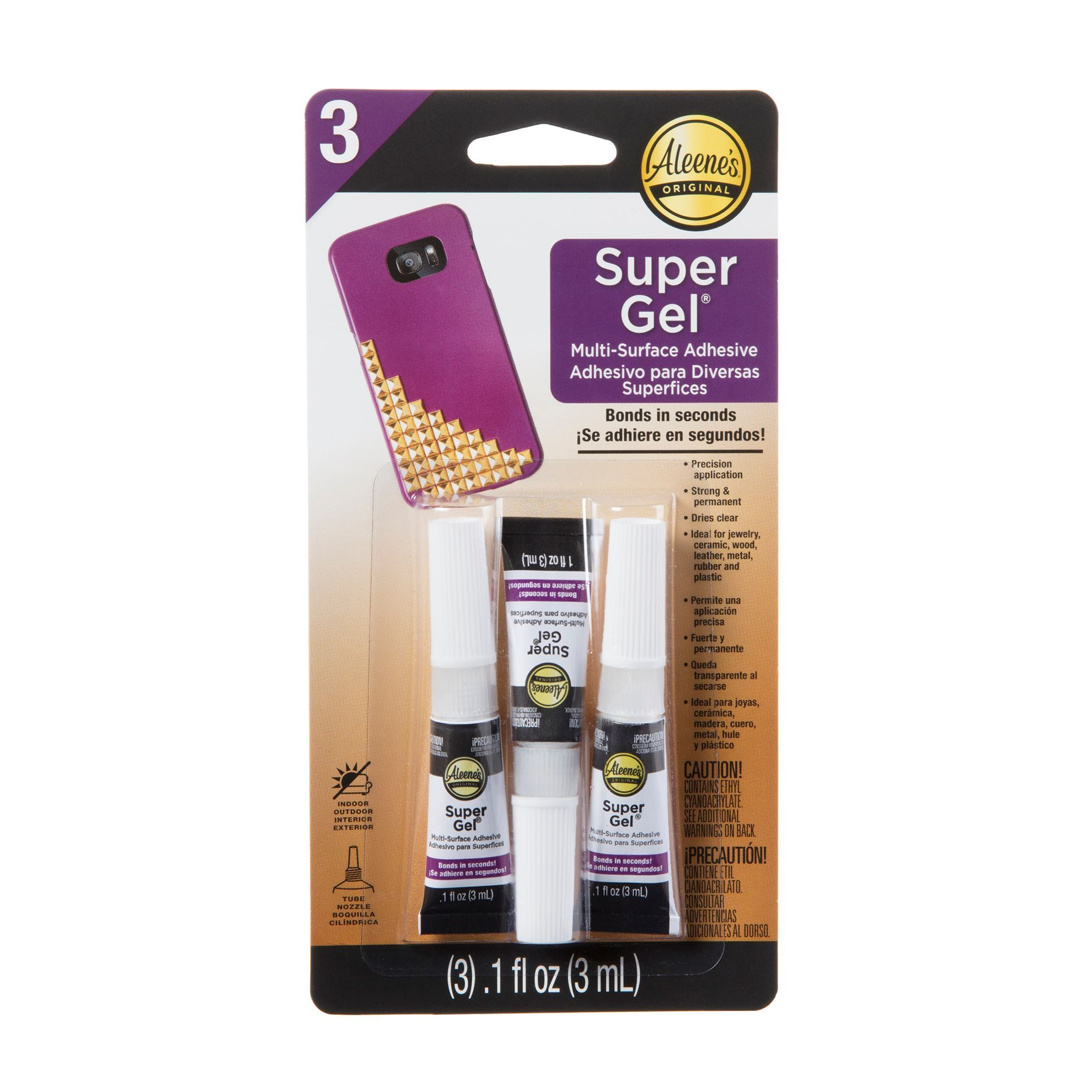 Aleene's® Super Gel Adhesive™ 3 Pack