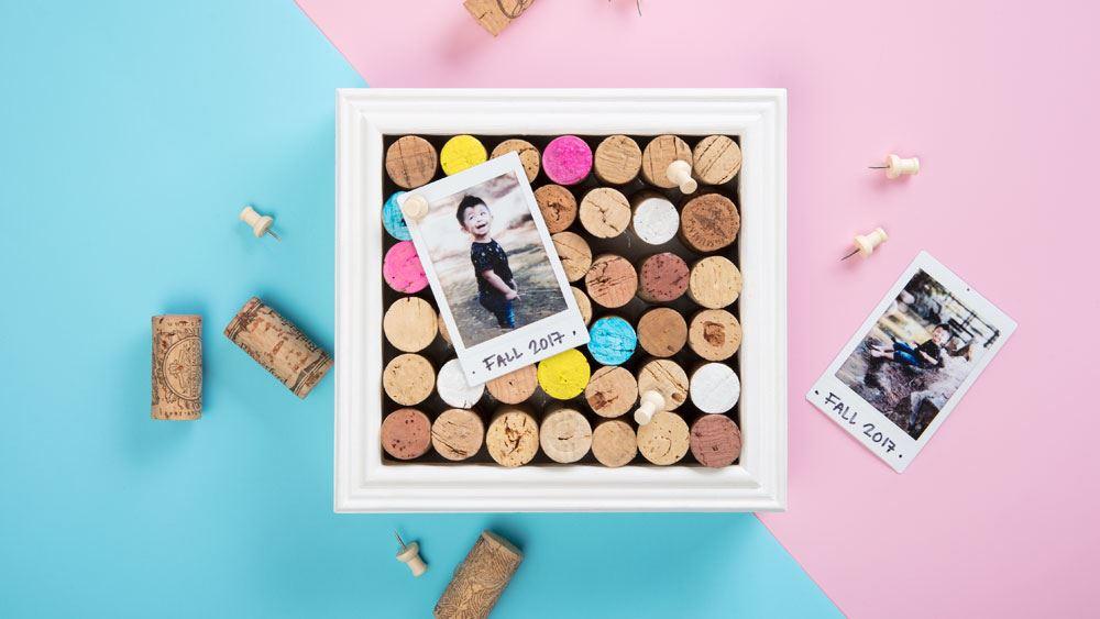 Picture of DIY Cork Peg Board