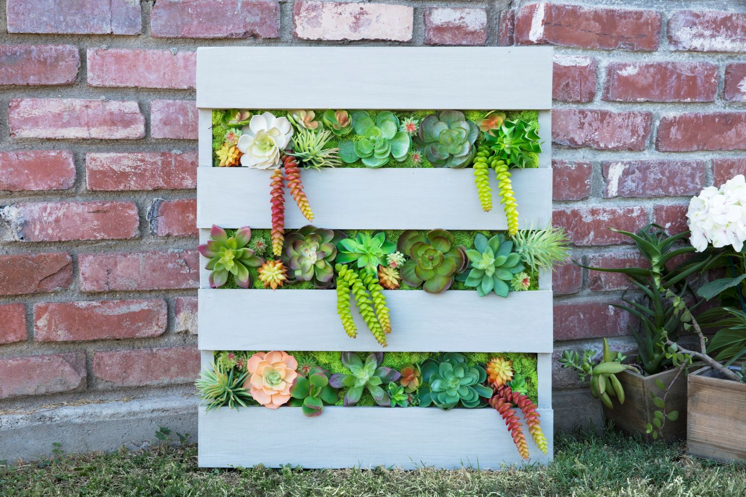 Picture of DIY Pallet Planter