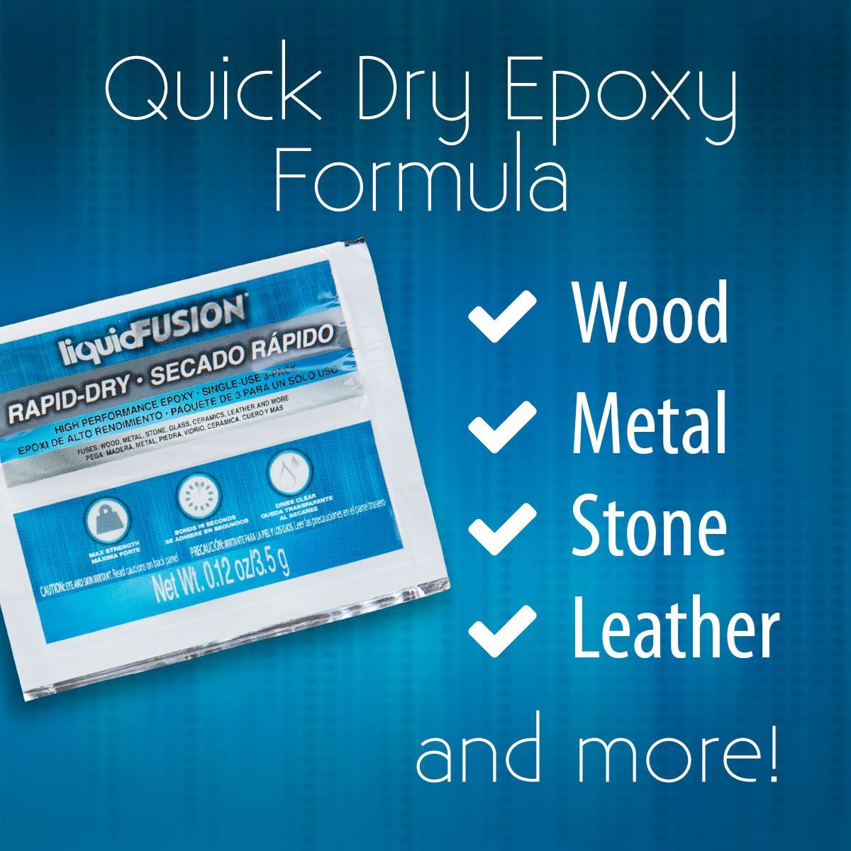 Liquid Fusion Rapid Dry Epoxy Surfaces